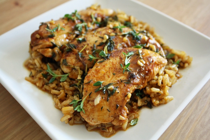 Paprika chicken with brown rice copy